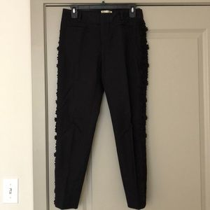 Elevenses Anthropologie black trousers size 2